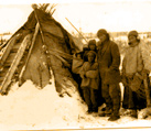 Winisk (Peawanuck) winter camp